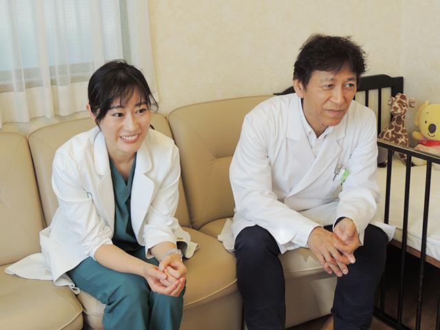 池田 威 院長 & 美彩子 医師