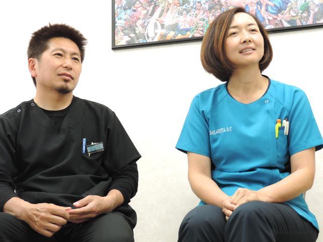 坂下 友也 院長 & 洋美 副院長