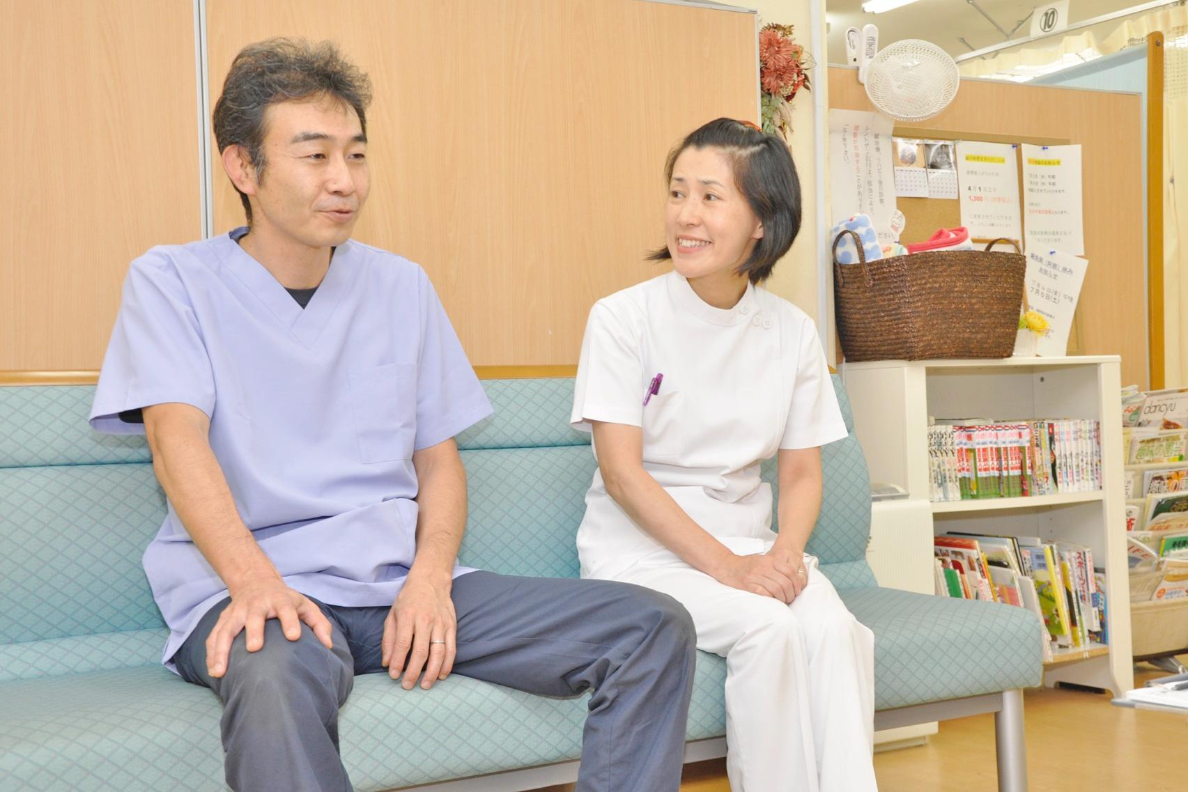 岩井 亮 院長 & 岩井 千香子 副院長