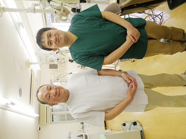 岡本歯科医院 岡本 圭三 院長 & 泰輔 副院長