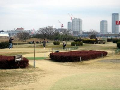 川崎市パークボール場 多摩川うなねパークゴルフコース