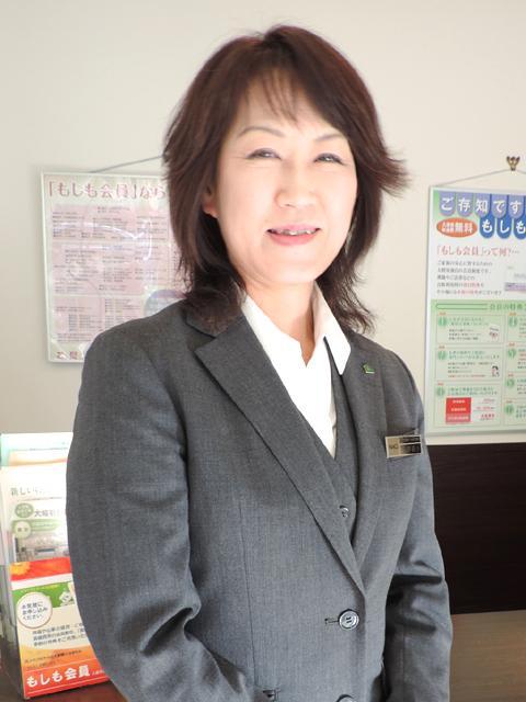 メモリアルアートの大野屋 フューネラルリビング横浜 三井 桂子 お客様相談員