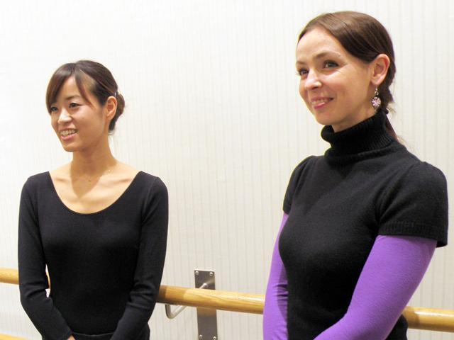 リュヴァ 代表講師 & 明子 講師